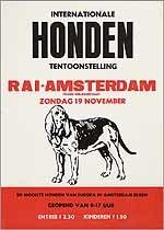 Internationale hondententoonstelling RAI Amsterdam. De mooiste honden van Europa in Amsterdam bijeen.