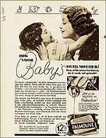 Ook voor baby's Palmolive