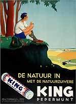 De natuur in met de natuurzuivere King pepermunt