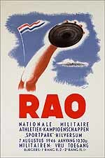 RAO Nationale Militaire Athletiek-kampioenschappen
