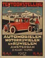 Tentoonstelling  Automobielen en rijwielen RAI