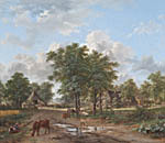 The farmyard (1832)
