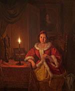 In the boudoir (1841)