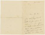 Henri de Toulouse-Lautrec to Theo van Gogh