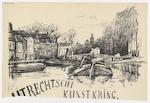 Utrechtsche Kunstkring: announcement lecture by Jan ten Brink