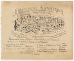 Utrechtsche Kunstkring (Utrecht Art Society):  programme for a musical gathering