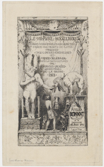 Invitation for a costume ball from the Studio of Bonnat
