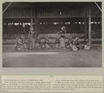 Bedaja Praboe Dewa, Javaanse danseressen dansen in de kraton voor de sultan van Djogjakarta