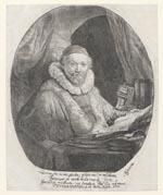 Portret van Johannes Wtenbogaert (1557-1644)