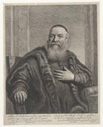 Portret van Eleazar Swalmius (1582-1652), predikant te Amsterdam
