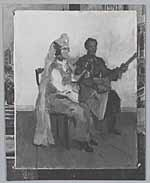 Image from object titled Balalaika spelers