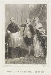 Arrestation du cardinal de Rohan