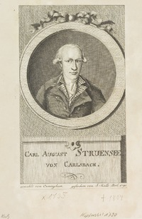 Carl August Struensee von Carlsbach