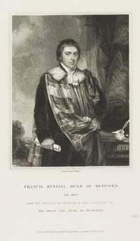 Francis Russell, Duke of Bedford