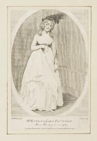 Mrs. Esten as Lady Flutter