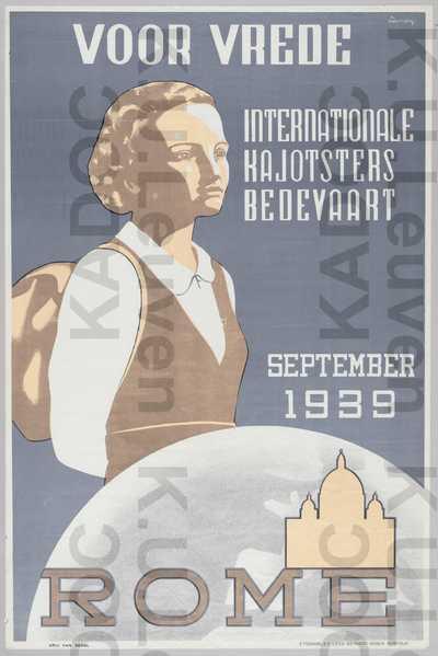 VKAJ, internationale bedevaart naar Rome, september 1939 : aankondiging