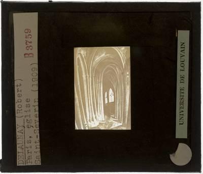 Robert Delaunay. L'église de Saint Séverin
