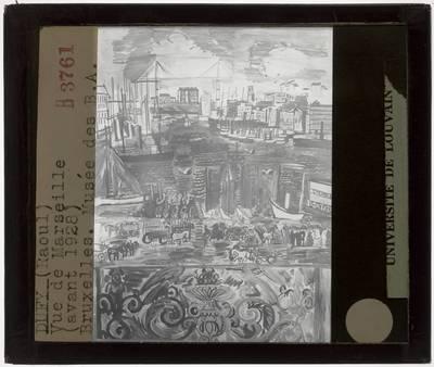 Raoul Dufy. Zicht op Marseilles