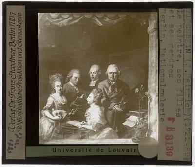 Johann Heinrich Tischbein I. Familie