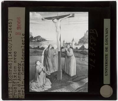 Konrad Witz. Christus aan het kruis