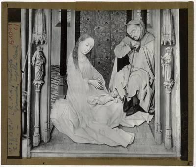 Rogier van der Weyden. Juan de Flandes (onzeker). Michel Sittow (onzeker). Heilige Familie