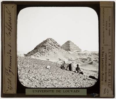 Image from object titled Saqqara. Djoser-complex :Trappiramide