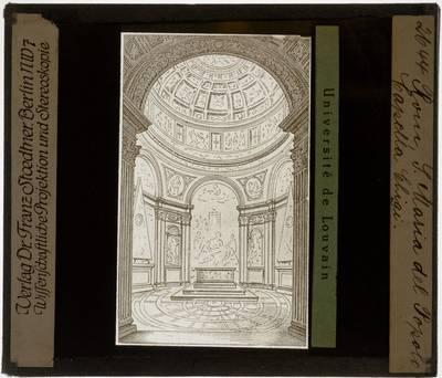 Roma. Basilica di Santa Maria del Popolo. Cappella Chigi :Interieur: Illustratie