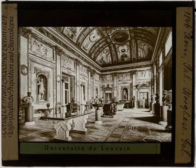 Roma. Villa Borghese Pinciana :Interieur: Galerij