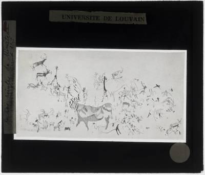 Image from object titled Rotsschilderingen van Minateda