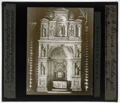 Andrea Bregno. Altare Piccolomini