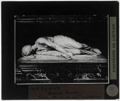 Stefano Maderno. De dood van de Heilige Cecilia