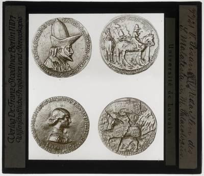 Pisanello. Twee medailles