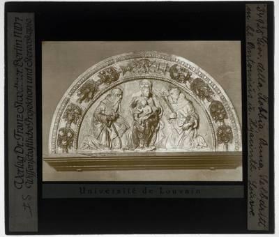 Giovanni della Robbia. Christus tussen twee Heiligen