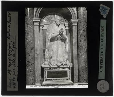 Flaminio Ponzio. Grafmonument van Paus Paulus V :Detail: Paulus V