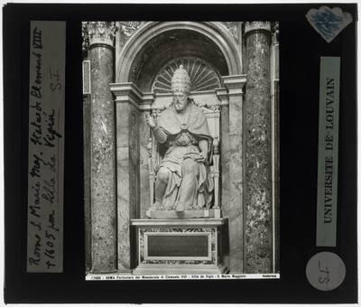 Flaminio Ponzio. Grafmonument van Paus Clemens VIII :Detail: Clemens VIII