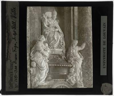 Filippo Della Valle. Grafmonument van Paus Innocentius XII