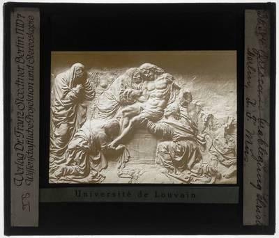 Andrea del Verrocchio. Graflegging van Christus