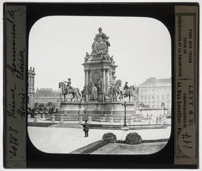 Caspar von Zumbusch. Anton Brenek. Carl von Hasenauer. Monument van Maria Theresia