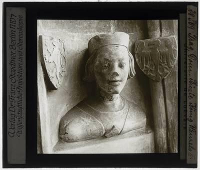 Peter Parler. Buste van Wenzel I