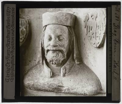 Peter Parler. Buste van Karel IV