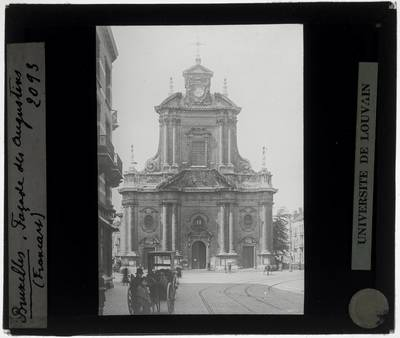 Brussel. Voormalige Augustijnenkerk