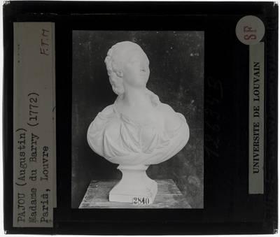Augustin Pajou. Buste van Jeanne Bécu, Comtesse Du Barry