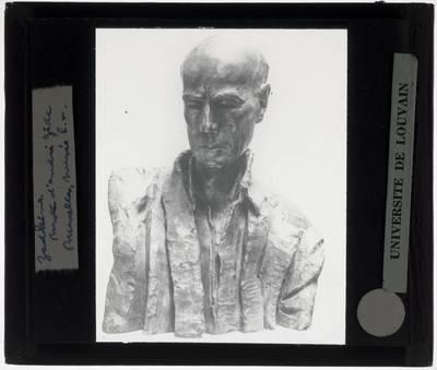 Ossip Zadkine. Buste van André Gide