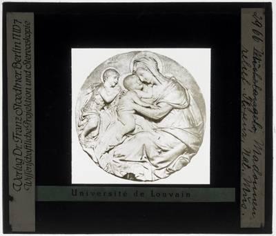 Giovanni Francesco Rustici. Madonna met kind en Johannes de Doper