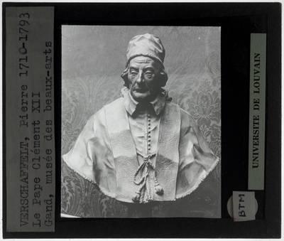 Filippo della Valle. Buste van paus Clemens XII