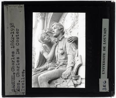 Charles Samuel. Frans De Vestel. Monument voor Charles De Coster