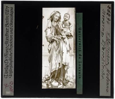 Hans Multscher. Madonna met kind