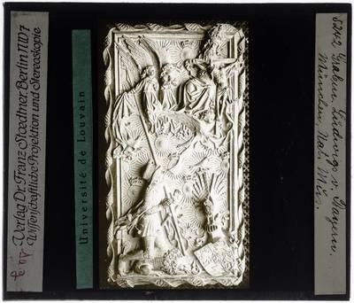 Hans Multscher. Model grafplaat voor hertog Ludwig VII van Beieren-Ingolstadt
