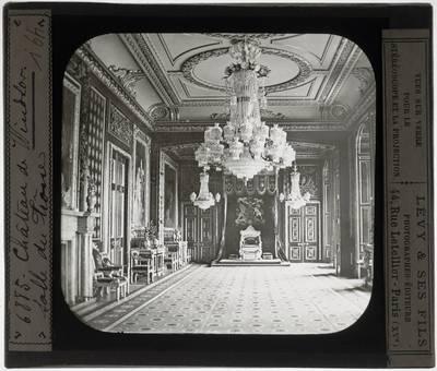Windsor. Windsor Castle :Garter Throne Room