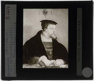 Christoph Amberger. Keizer Karel V